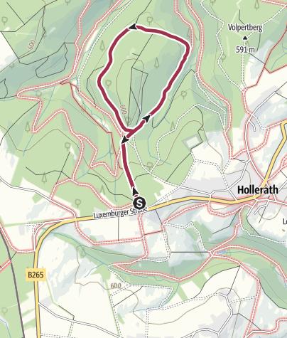 Karte / Wanderung 2017