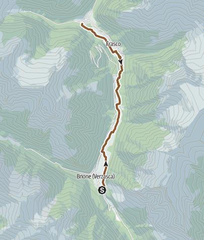 Karte / 399 Alta Verzasca Bike
