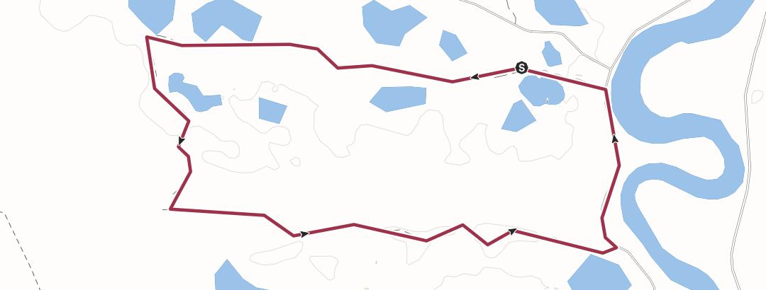 Kart / 9km loop trail