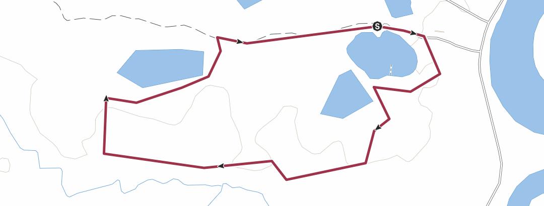Térkép / Beaver Trail