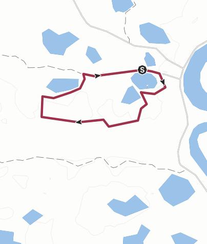 Mapa / Beaver Trail