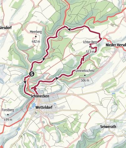 Karte / Wanderung 2018