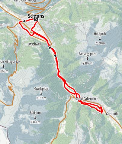Karte / Mfit für Mountainbike-Einsteiger und Hobbybiker
