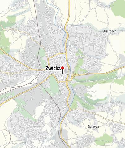 Zwickau Karte.Tourist Information Zwickau Tourist Information Outdooractive Com