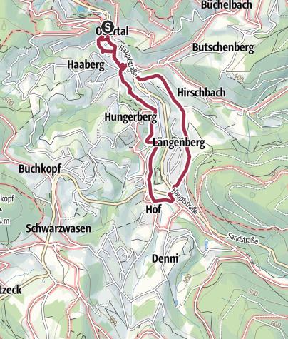 Karte / Bühlot-Rundweg