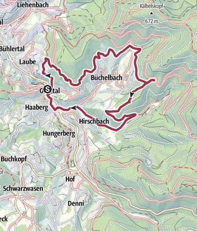 Karte / Büchelbach-Rundweg