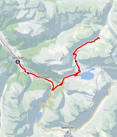 Karte / Neue Heilbronner Hütte Tour (E-Bike)