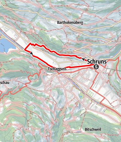 Karte / Gauensteinrunde