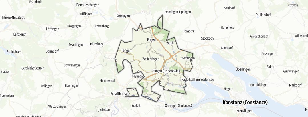 地图 / Hegau