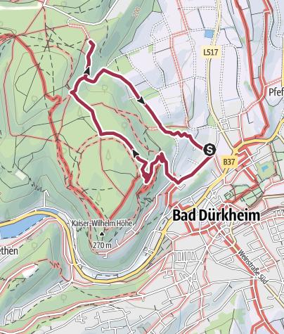 Map / Bad Dürkheim, Schützenhaus