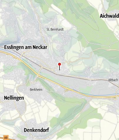 Karte / e-Bike Welt Stuttgart