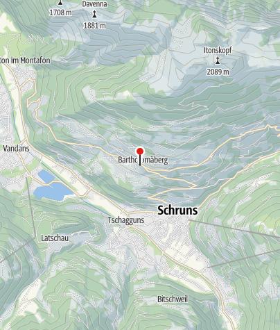Karte / 5. Station: Bergknappenweg, alte Bergleute