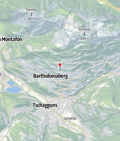 Karte / 9. Station: Roferweg, spätmittelalterliche Bergschmiede