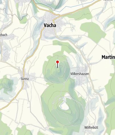 Karte / Rhönclubhütte