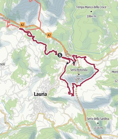 地图 / Lauria Mountain bike 24 dic 2019, 12:57