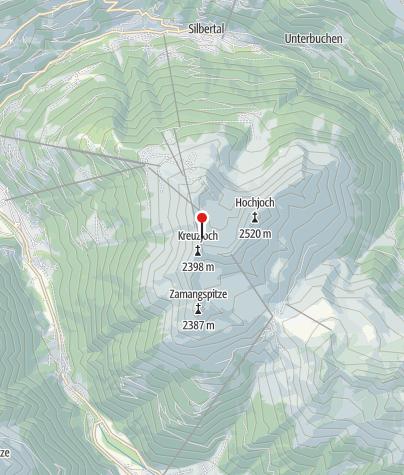 Karte / Klettergarten Wormser Hütte