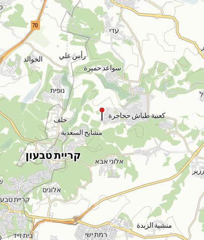 Karte / Galilee Bedouin Camplodge