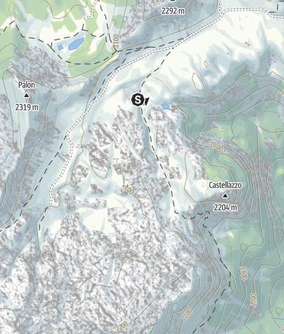 Cartina / Lago Lavacel C