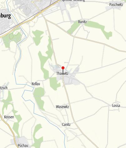 Karte / Thallwitz