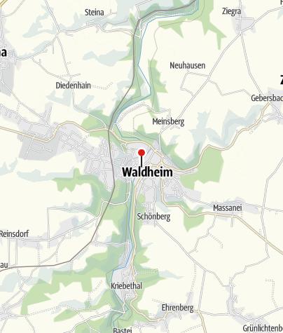 Karte / Waldheim