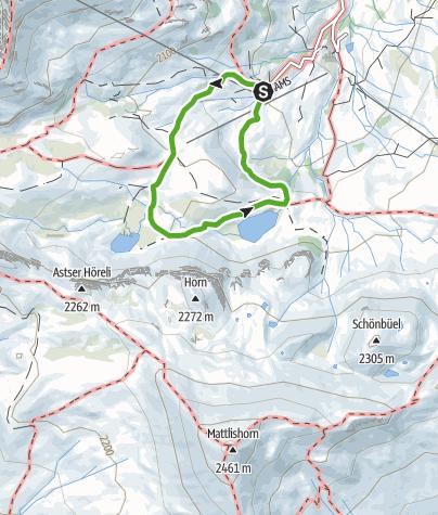 Map / Genusswanderung: Clunerseen Rundwanderung