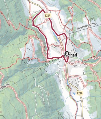 Karte / Dorfrunde