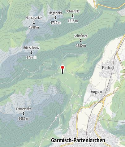 Karte / Diessener Hütte