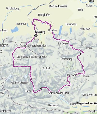 מפה / Wals Kitzbühel