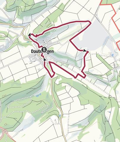 Karte / Rundweg Dautmergen