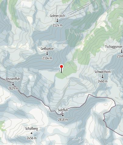 Karte / Klettergarten Lindauer Hütte