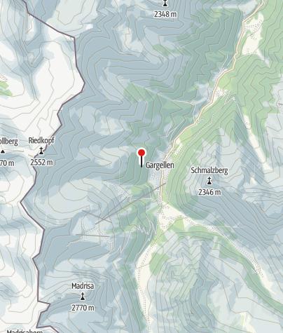Karte / Klettergarten Gargellen