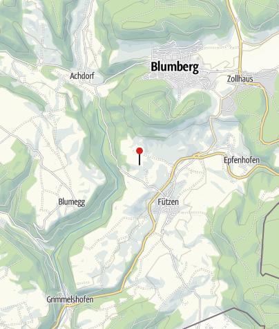 Karte / Bielwasenhütte