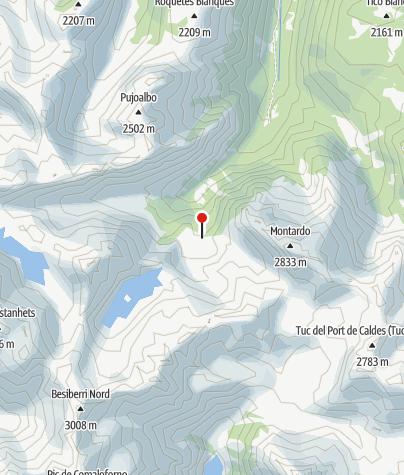 Karte / Refugi dera Restanca