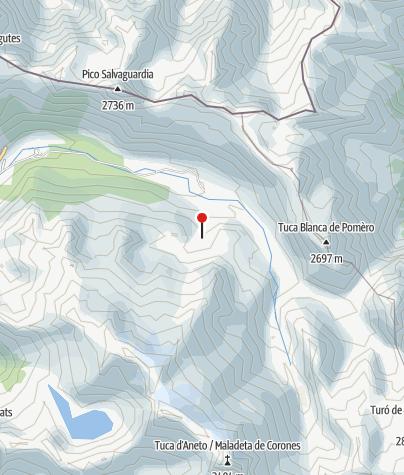Karte / Refugio de la Renclusa