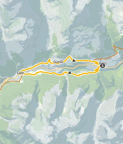 Karte / Schellen-Ursli Runde