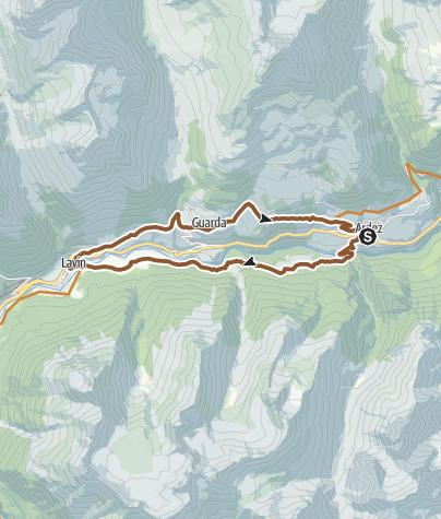 Map / Schellen-Ursli tour