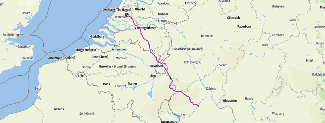 Mapa / Waddinxveen - Briedel