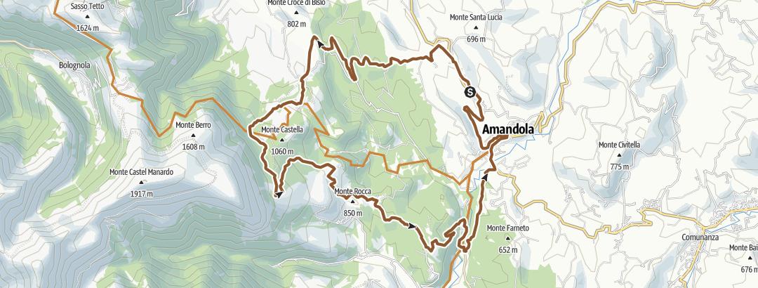 Map / percorso 3 Outdoor - Amandola