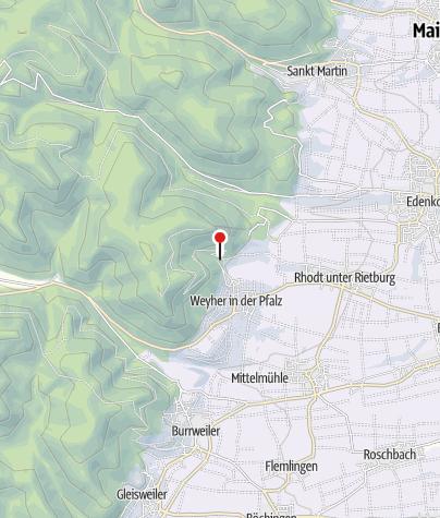 Karte / Rietaniahütte