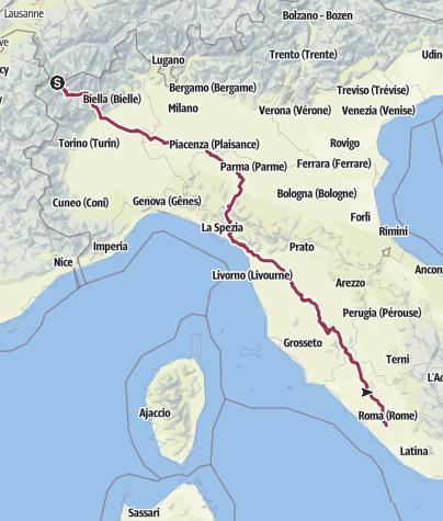 Carte / Via Francigena 2