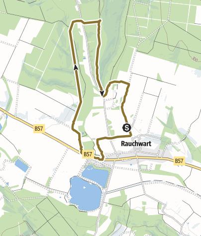 Karte / Hausrunde RW-Richtung Olbendorf