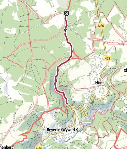 Map / Kids on tour - Ein echter Gebirgsbach - Trôs-Marets