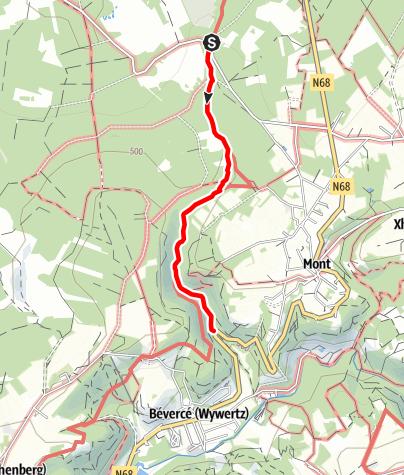 Karte / Kids on tour - Ein echter Gebirgsbach - Trôs-Marets