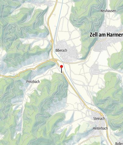 Karte / Landgasthof Kinzigstrand