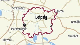 Map / Wanderweg Rund-um-Leipzig