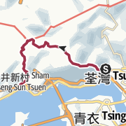 Map / 元荃古道(半段走)