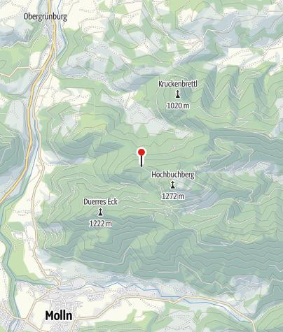 Karte / Grünburgerhütte 1080m