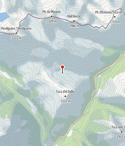 Karte / Cabana del Ubago de Lliterola