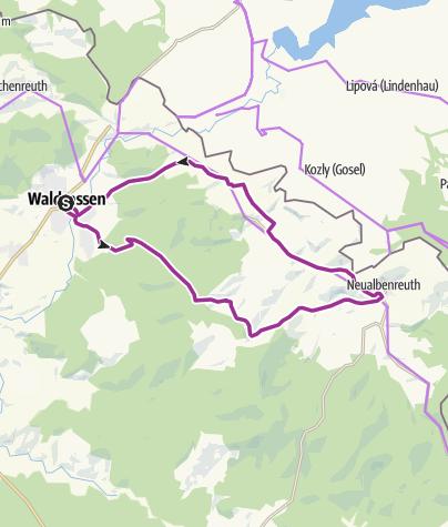 Map / Sibyllen-Radweg