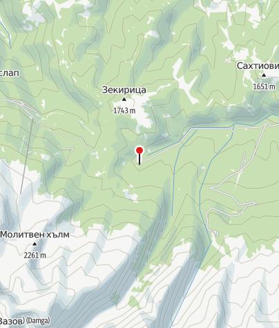 Karte / Hütte Vada